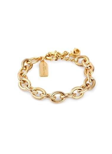 Alberto Guardiani Alberto Guardiani Ag10357Blk Jewelery Bileklik Altın